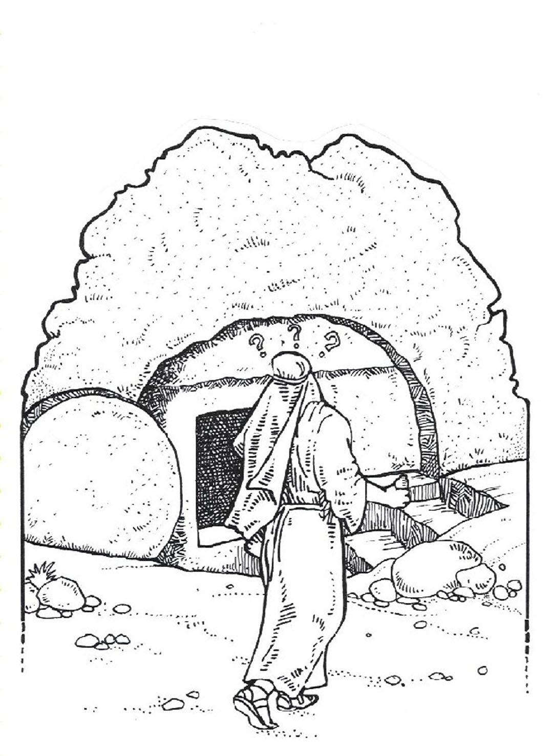 Kleurplaten Pasen Christelijk.Gereformeerde Kerk Anna Jacobapolder